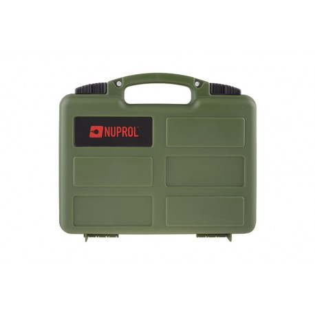 Geanta Hard Case Pistol Verde Nuprol